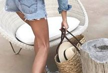 | Fashion • Summer Outfits | / Summer Outfits, Summer Outfits 2017, Summer Outfits Casual, Blogger Style, Blogger Outfits, Summer Outfits for Work, Summer Fashion 2017, Summer Trends, Summer Trends 2017 Fashion, Minimalistic Style, Summer Looks 2017, Vacation Outfits, Holiday Outfits 2017, Cute, Classy, Chic, Preppy, Edgy, Tumblr, Vintage