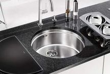 Blanco Round Sinks / A selction of Blanco stainless steel and granite inset and undermounted round bowl kitchen sinks from sinks-taps.com