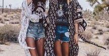 | Fashion • Festival Outfits | / Festival Outfits, Coachella, 2017, 2018, Boho, Sexy, Ideas, Inspo, Hippie, Summer, Blogger, Influencer, Instagram, Glitter, Casual, Bohemian