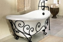 The claw foot tub...lost magic / The magic of relaxation begins with the right tools..a clawfoot tub is a lost art of complete peacefulness! / by Jenny Future Mrs. Rivers