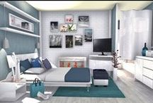 3D Home Design / Some projects created with HomeByMe for decorating ideas, 3D designs, 3D renderings  / by HomeByMe