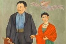 the Elephant & the Dove / Diego & Frida / by Laurie Leahy
