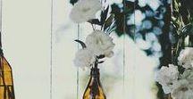 Bodas // Flores / días de blanco y alegrías
