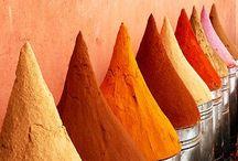 Color: Orange, Coral, Cinnabar, Persimmon, Tangerine & Saffron