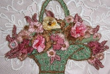 ~Embroidery And Silk Ribbon~ / by Marla Corson