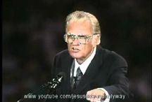 Billy Graham / Information about Reverand Billy Graham's life and ministry. / by Grace Bertroche