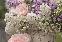 Flower arrangements....