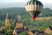 Around the World by Balloon