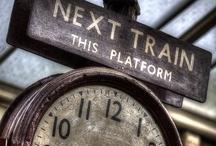 ~Go By Train~ / by Marla Corson