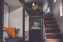 tiny house living / by Brooke Biette