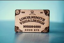 Design: Business Cards / by Joanna Conda