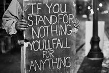 W E L L + S A I D / If you stand for nothing you fall for everything