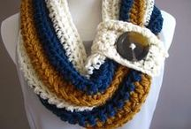 Crochet scarfs and hats / by Ghislaine Robichaud
