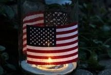 Love the holidays: The 4th of July / 4th of July ideas / by Danielle Thompson