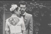 fashion | tattooed bride / by Brooke Biette