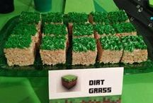 Minecraft Party Ideas #minecraftparty #minecraftbirthday #minecraftpartyideas / I currently offer Minecraft Themed Birthday Party Packages. Come check it out! Minecraft Party Ideas #Minecraft #minecraftfood #minecraftparty #minecraftbirthday #minecraftpartyideas / by Mind Body Soul Essentials