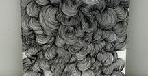 tangles, lines and the like / Beautiful sketches and line drawings to inspire