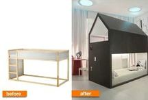 IKEA Hack! / Find the best ways to hijack basic IKEA furniture into great decor! / by HomeByMe