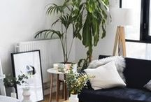 Living Rooms / Living room and lounge design and styling inspiration, decor ideas