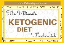 Keto and LCHF diet information / Information on the ketogenic LCHF diet.