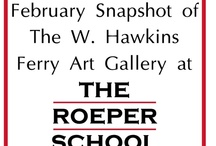 February Snapshot of The W. Hawkins Ferry Art Gallery