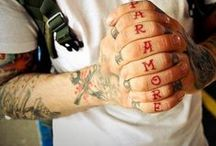 Tattoos Bands and Artist song lyrics  / by ¤//DarkParadise\\¤