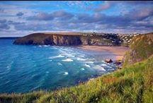 Mawgan Porth beach  / Mawgan Porth is a stunning beach on the north coast of Cornwall - www.kingsurf.co.uk