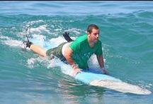 Celebs surfing / Kingsurf's selection of celebrities surfing and getting fit! - www.kingsurf.co.uk