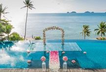 Thai the Knot / Whether paradise for you is a secluded, sapphire beach, an oriental adventure or the royal treatment at an exclusive villa, Thailand has the ideal backdrop for your dream wedding.