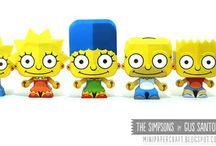 Бумажные Симпсоны