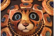 Strange Collections: Cat People of the Outer Regions: The Art of Karen Kuykendall