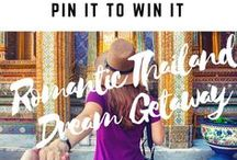 Pin to Win: Romantic Thailand Dream Getaway / Pin to Win your Ultimate Romantic Thailand Dream Getaway! Find out more at http://www.bookthailandnow.com/pin-to-win-romantic-thailand-dream-getaway/