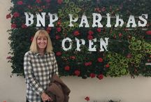 Tennis / BNP Paribas Living Flower Sign