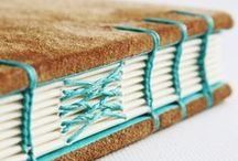 Crafts ÷  BuchbindeKunst :: bookbinding / The art of binding books. Handcrafted goodness for my bibliophilic heart. Inspiration for stitches, cover designs, binding possibilities and page variations.
