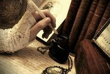 Old books and ink~