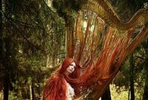 Harps and ethereal melodies / by ☽Dryad☾ of the tangled forest