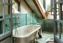 Home ÷ WaschTag :: bathrooms / Inspiration for beautiful bathrooms, DIY solutions and storage ideas. Nature inspired, rustic, country style and shabby.