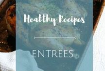 Entrees / These flavorful, healthy entrees are sure to be the stars of your table!