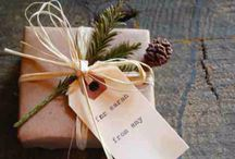 • Lovely wrappings / Wrapping is just as important as the inside, make it lovely!
