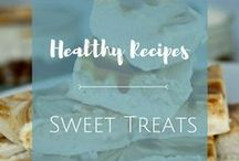 Sweet Treats / Life can stay sweet even when you choose to eat healthy. Here's a collection of healthy sweet treats that you'll enjoy making. They're perfect as giveaways, too.