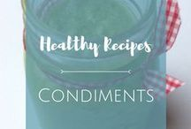Condiments / Add zing to your salads and other dishes with these tasty and healthy condiments!