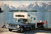 Vintage camping / Because we just love these pics!