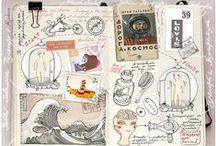 Inspiring travel journals