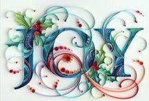 Paper art, quilling, etc.