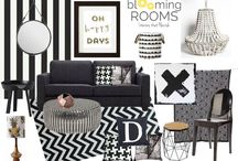 Inspirational Mood Boards / Mood boards made to inspire by Blooming Rooms