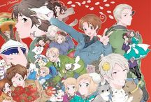 Hetalia & its awesomeness! / All zhe countries! So, ja. Feel free to pin any ships, any art of any country, basically anyzhing to do vith Hetalia. Even zhe 2P!s and Nyos! ((Feel free to rp here too))