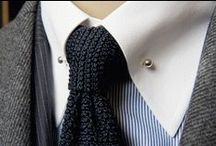 Knit Ties / Knit ties are the perfect balance between casual and dressed up. We love their unique square bottom shape and texture.