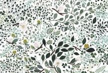 Art ÷ Muster :: patterns / Beautiful (repeating) patterns, illustrated and painted, with my favourite themes: nature, animals, ornamental and vintage. Lovely designs for fabrics, wallpapers, websites and more.