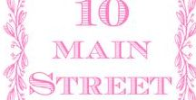 10 Main Street / Ce tableau contient tous mes articles et des photos de mon blog deco, bricolage, relooking de meubles... | This board contains all of my posts and pictures from my blog about home decor, DIY, furniture makeovers...