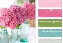 Color Me Pretty / Beautiful color boards and color design ideas! Inspiration for blog design colors!